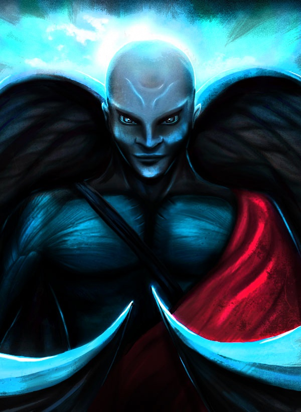 Anjo caído - (Fallen Angel)