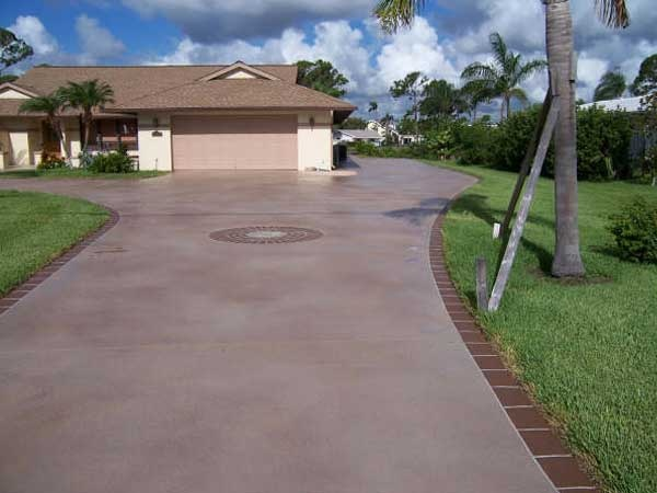 30 best images about brick designs on pinterest for Concrete driveway designs