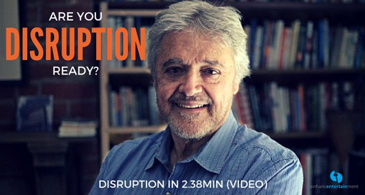 Are You Disruption Ready? Video with Larry Quick