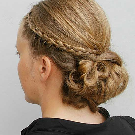 There's no need to make a trip to the salon for a special-occasion updo when you can create this celebrity-inspired style on your own!