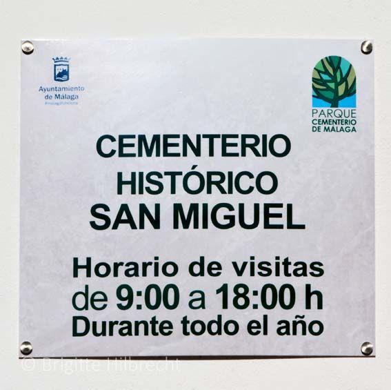 #Málaga #Guide #HistoricalSanMiguel #Cemetery  For more information: http://www.amazon.co.uk/M%C3%A1laga-Capital-Coast-Brigitte-Hilbrecht/dp/1517300533/ref=sr_1_1?s=books&ie=UTF8&qid=1456574193&sr=1-1&keywords=malaga