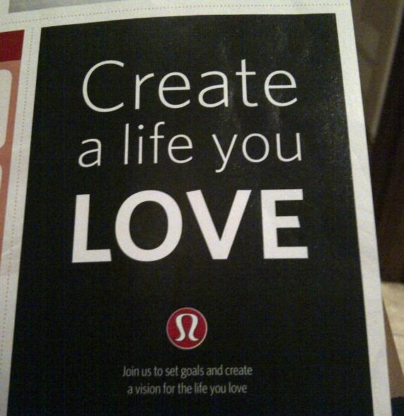 lululemon quote