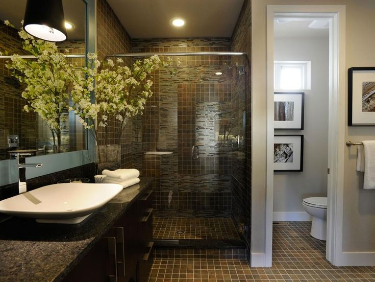 Bathroom Remodel Tips Master Ideas With Elegant And Interesting White Wall Double Vanity Sink Green Flower Grasses Design Glasses