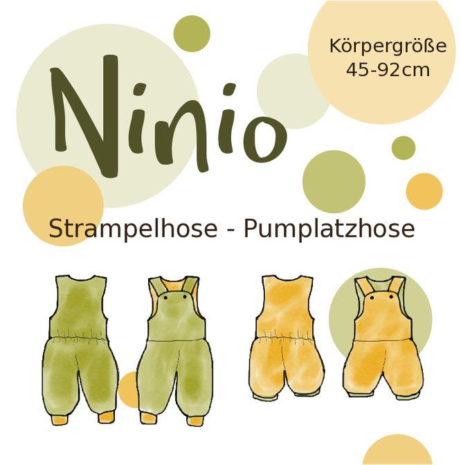 Hier findet Ihr die Nähanleitung zur Strampel- oder Pumplatzhose Ninio. Die Anleitung funktioniert wie ein Wiki: Alle unterstrichenen Begriffe können angeklickt werden und man gelangt zu weiteren Erklärungen und Tutorials.