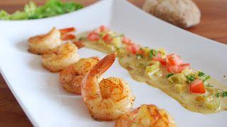 Kim's Tupperhoekje: RECEPT : Scampi's met groenten en curryroomsaus in de 101° MICRO GOURMET