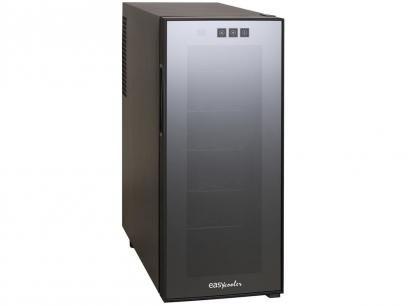 Adega Climatizada Easycooler 12 Garrafas JC-33C - Controle Digital de Temperatura com as melhores condições você encontra no Magazine 233435antonio. Confira!