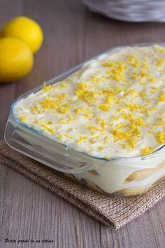 Il tiramisù al limone è un dessert dal sapore fresco e delicato, perfetto per l'estate!