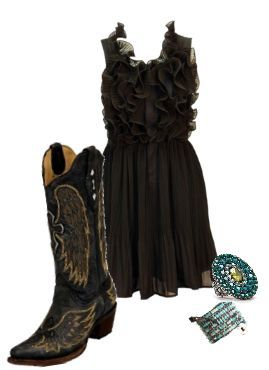 cowgirl boots <3 Rach, you already have this stuff in your closet
