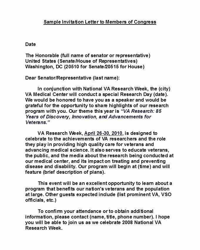 Sample Invitation Letter for Guest Speaker at Church New