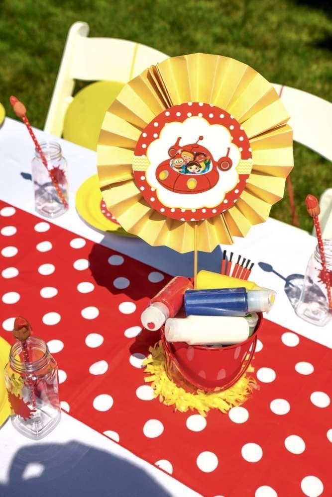 Little einsteins birthday party ideas birthday party for Baby einstein decoration