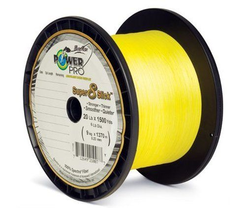 Fishing: Power Pro Super 8 Slick Braided Fishing Line, 80-Pound 300-Yard, Yellow >>> Be sure to check out this awesome product.