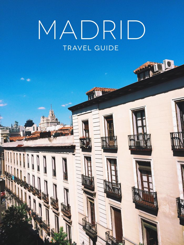 Madrid Spain Travel Guide