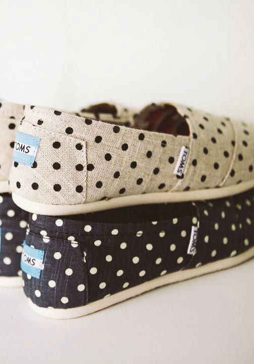 The shoe that started the One for One movement: TOMS Classics.