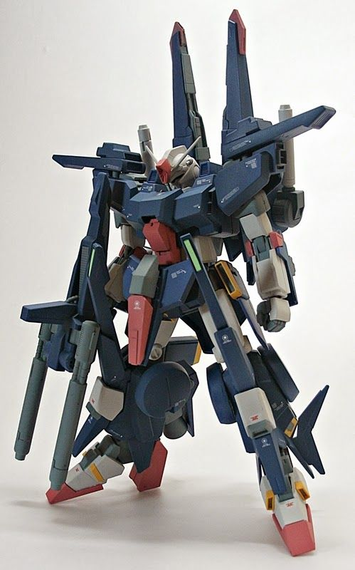 GUNDAM GUY: 1/144 ZZ Gundam II - Custom Build