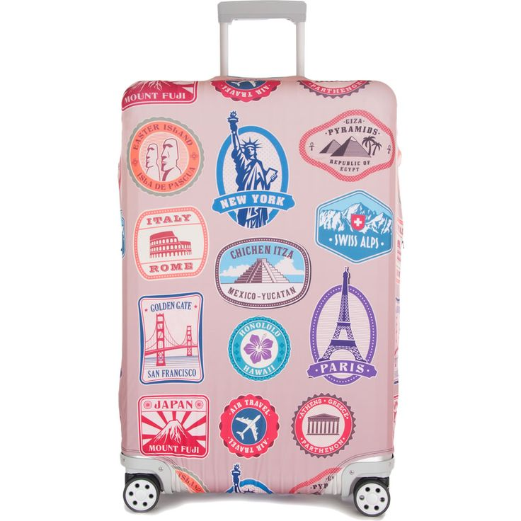 Two Red Tuques - Luggage Cover - TravelSmarts Luggage & Accessories