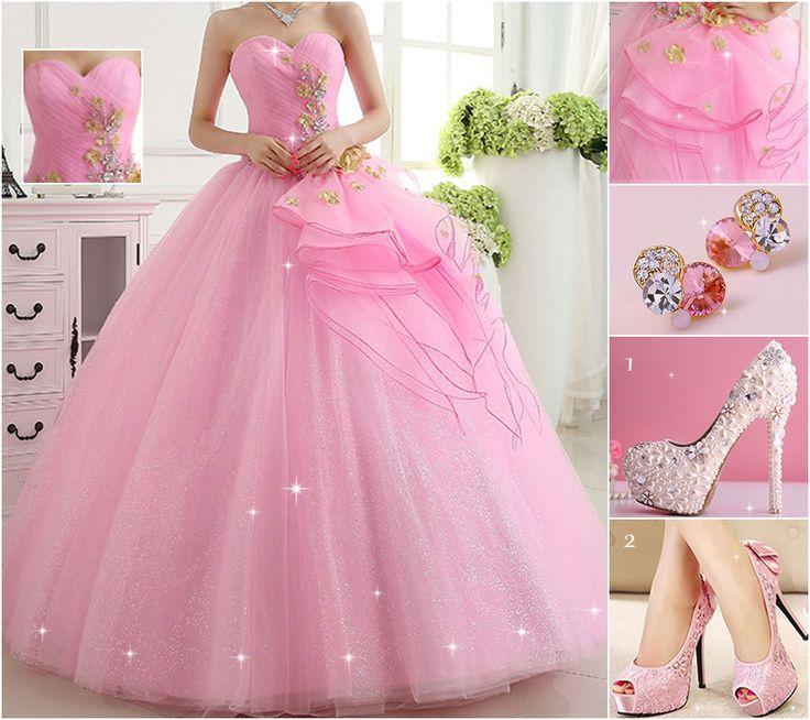 Mejores 161 imágenes de Prom Dress en Pinterest | Vestidos para ...