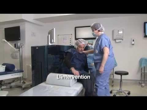 Vivez l'opération des yeux laser par LASIK. Chirurgie réfractive myopie, presbytie... - YouTube