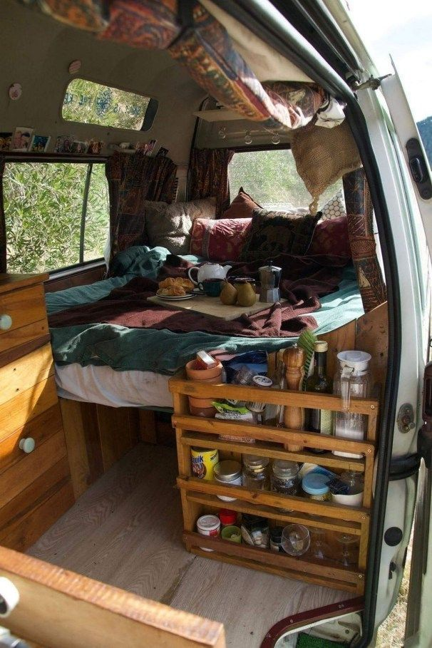 30 Wonderful Rv Camper Van Interior Decorating Ideas En 2020