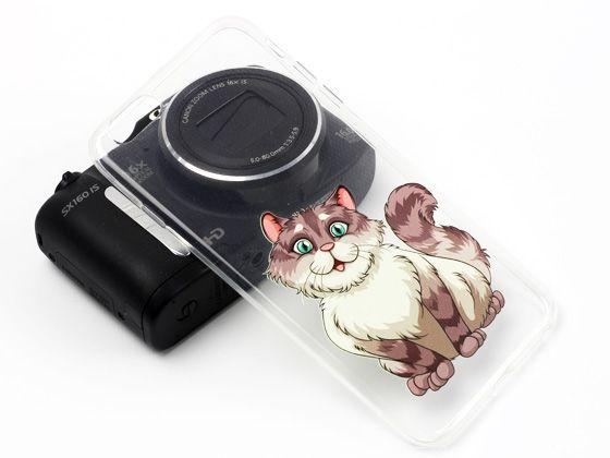 Prześliczny kotek na etui do iPhona 6 Plus:)