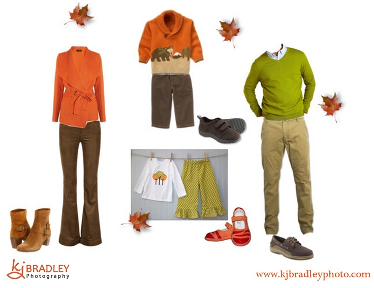 What to Wear for Fall Pictures