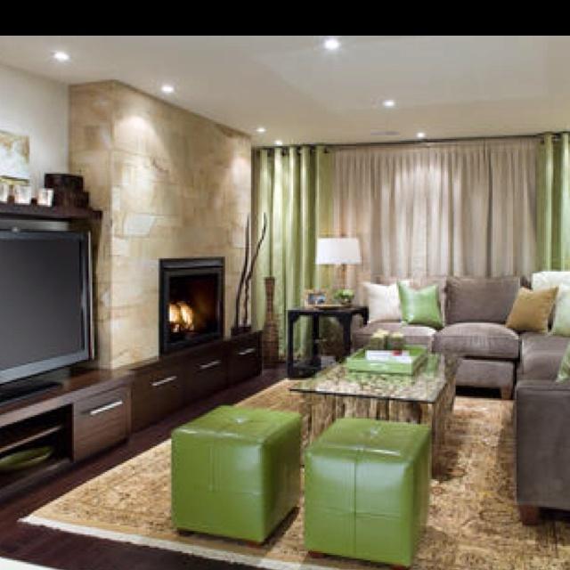 living room by candice olsen of divine design on hgtv fabric wall for basement home house. Black Bedroom Furniture Sets. Home Design Ideas