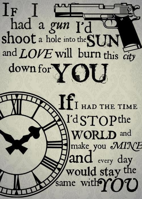 If I Had a Gun ~ Noel Gallagher