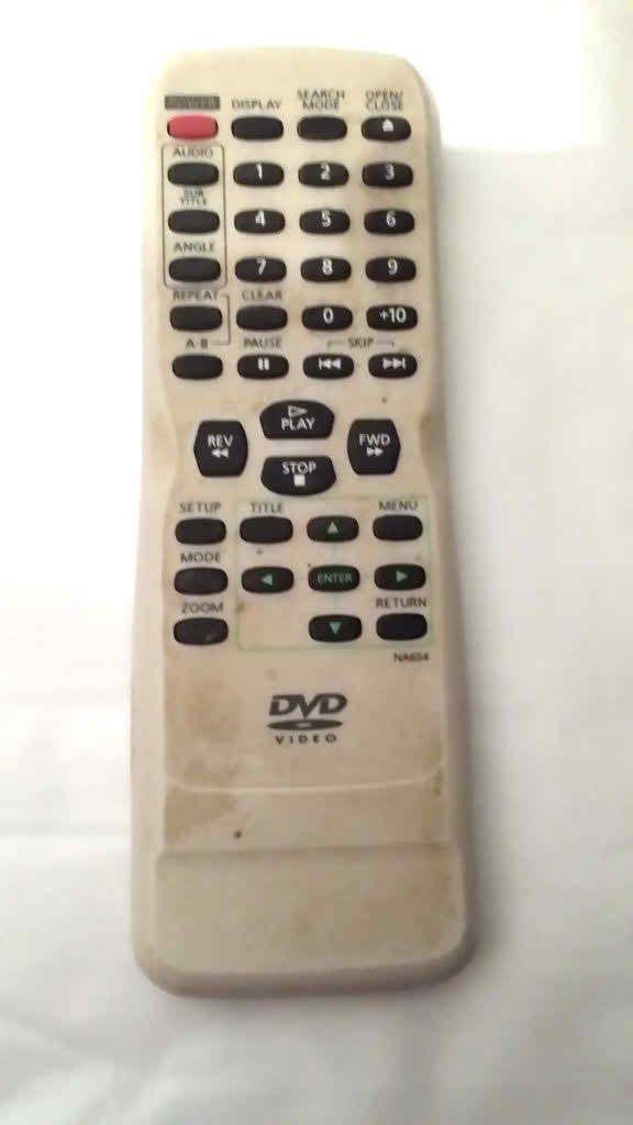 Funai NA654 NA604 DVD Remote Control EWD7003 CDVL100D DVL100D