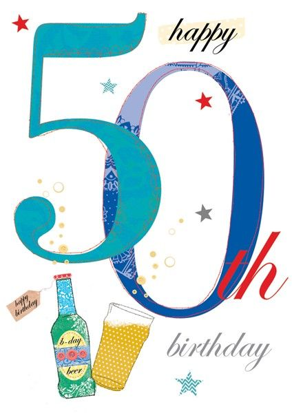 206 best 50th Birthday Ideas images – 50th Birthday Card Greetings