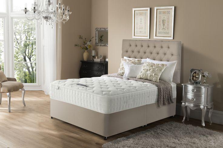 Get the perfect nights sleep with the Silentnight Leighton 2000 Pocket Memory Kingsize Mattress.