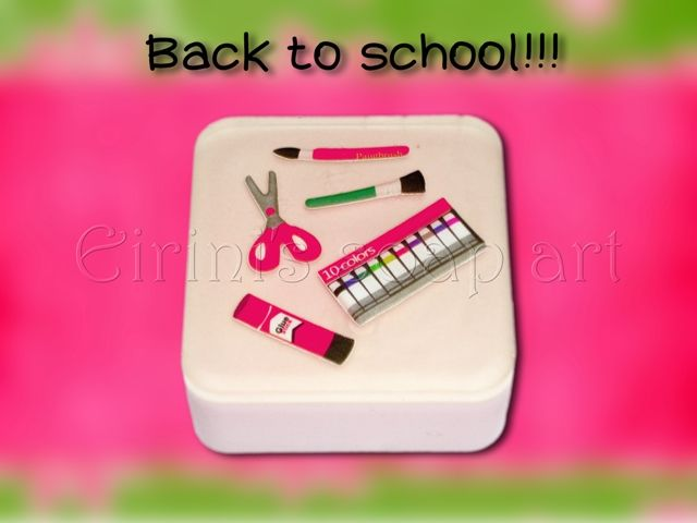 Back to school 2 soap