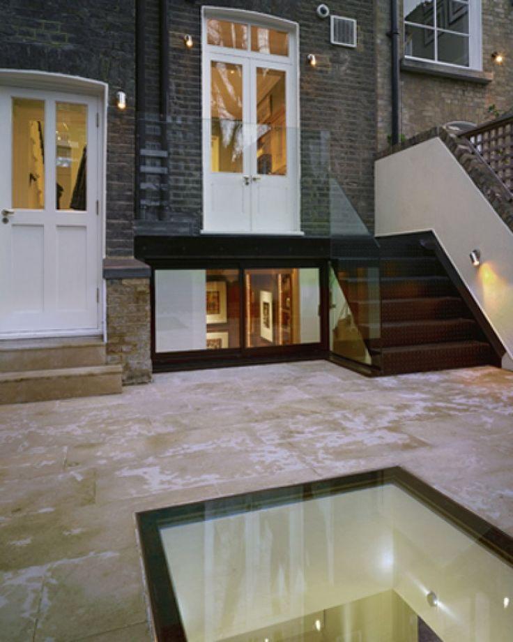 Basement Extension Ideas Part - 19: Interesting Courtyard