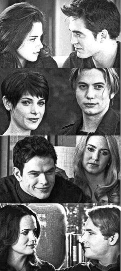 Bella and Edward and Esme and Carlisle.... The similarities in the photos make me so happy :)