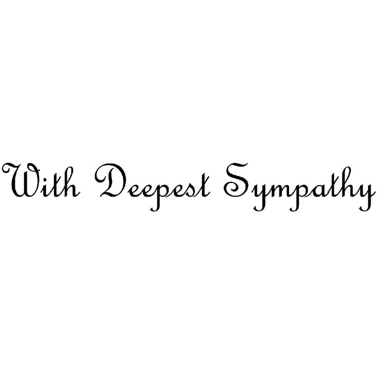 With Deepest Sympathy 1443E