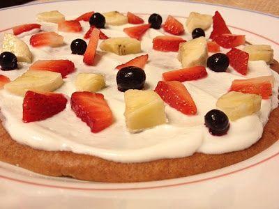 Healthy Breakfast Fruit Pizza! niksnaks3