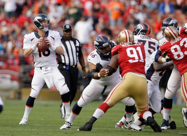 Watch NFL Sunday Night Football Live Streaming San Francisco 49ers vs Denver Broncos Live Online Week 7 match will be kick off at Sports Authority Field at Mile High Stadium in Denver, Colorado, Su...