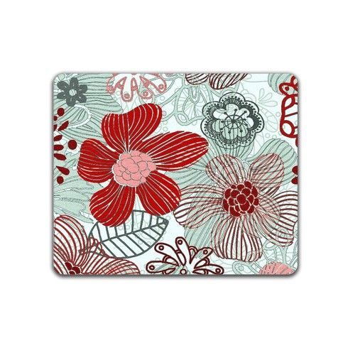 doodle flowers Placemat by ancello at zippi.co.uk