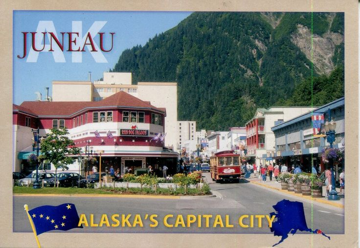 juneau alaska post cards