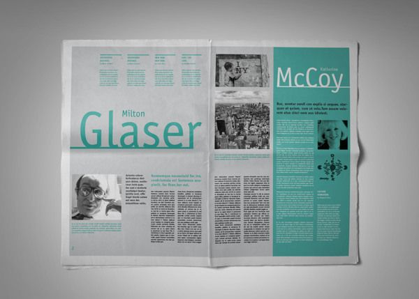 "Tabloid / Newspaper ""A /LAB"" [Editorial Design] by ..."