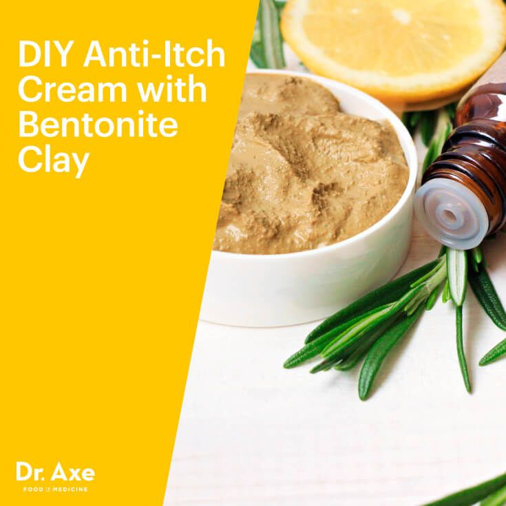 DIY anti-itch cream - Dr. Axe http://www.draxe.com #health #holistic #natural