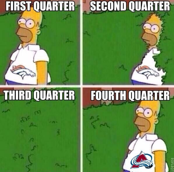 Broncos Fans be like.....