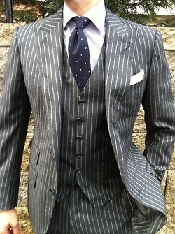 """""""How I Met Your Mother"""" gave me an interest in purchasing suits, Pinterest solidified the interest."""