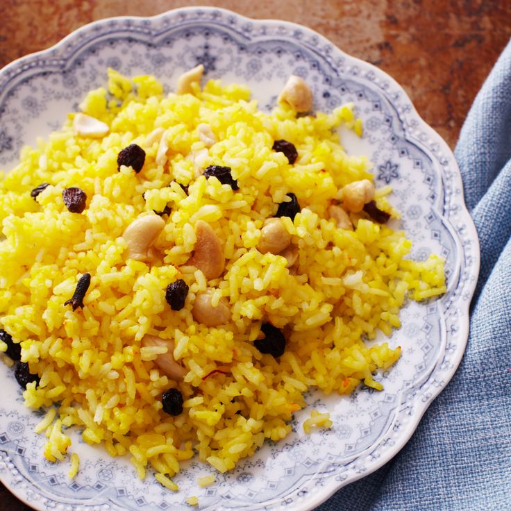 how to make indian sweet yellow rice