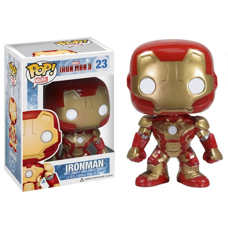 FUNKO: IRON MAN 3 CAN-TIVITIES, PAPERCRAFT, WACKY WOBBLERS, MORE | Action Figure Times