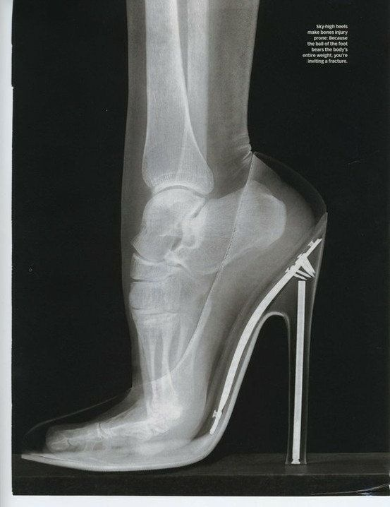 Men think they are tough...try wearing these! :)