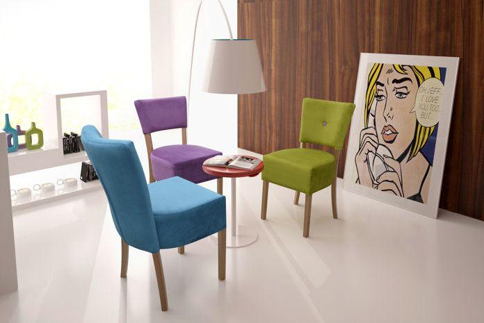 Designerskie krzesło tapicerowane Paris  https://www.centrumkrzesel.pl/krzeslo-paris/3892/p #centrumkrzesel #krzeslo #tapicerowane #jadalnia #salon #gabinet #wnętrze #design #architecture #interior #interiordesign #diningroom #modern #glamour