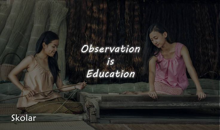 """To acquire knowledge, one must study; but to acquire wisdom, one must observe"" ~Marilyn Vos Savant  #observation #education #wisdom #school #theskolar #student http://butimag.com/ipost/1553301290821761561/?code=BWOb0tUljoZ"