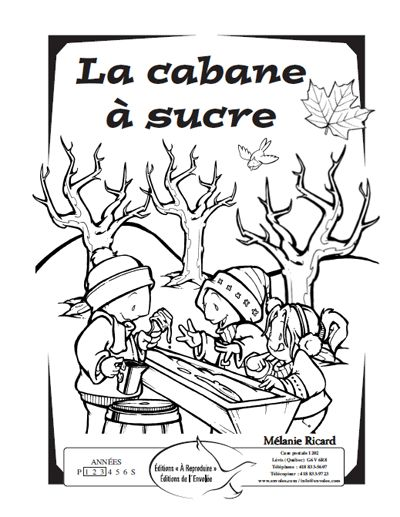 1000 images about cabane a sucre on pinterest social - Coloriage de cabane ...