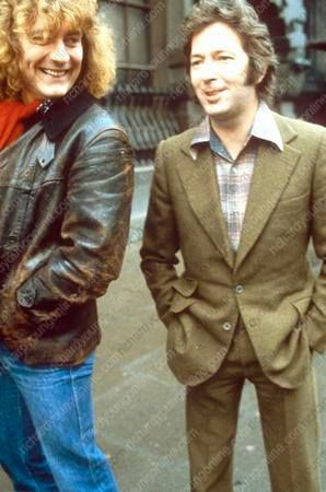 http://custard-pie.com/ Robert Plant and Eric Clapton.