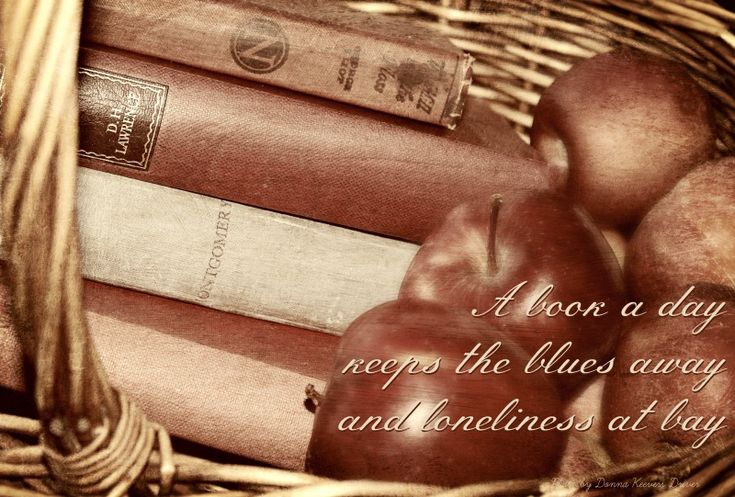 A book a day keeps the blues away and loneliness at bay...