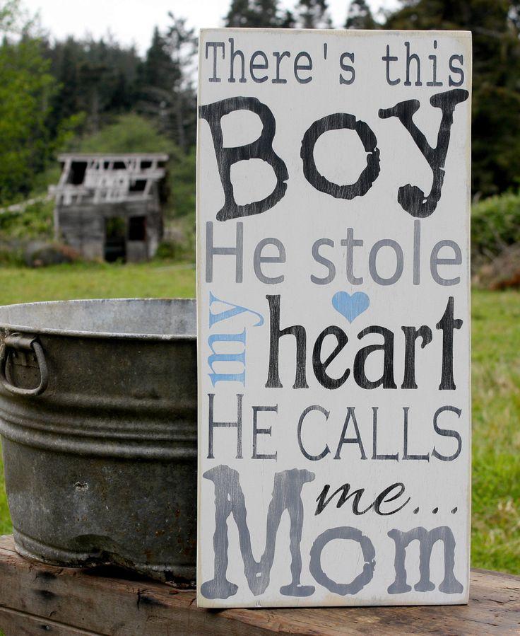 He calls me Momma <3